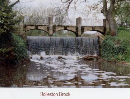 Rolleston Brook- Rolleston-on-Dove River Dove - Clay Mills