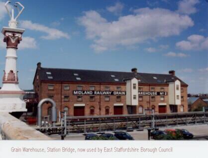 Grain Warehouse - Derby Street Leicester Line Trent Bridge Stapenhill